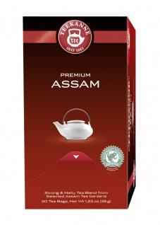 Teekanne kraftvoll entspannender Schwarztee Premium Assam 35g