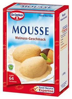 Dr. Oetker Mousse Walnuss-Geschmack 1 kg, 1er Pack (1 x 1 kg)
