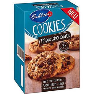 Bahlsen Cookies Triple Chocolate