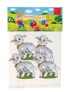 Storz Mini Lämmchen massiv Edelvollmilch Schokolade Oster Figuren 50g