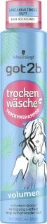 Schwarzkopf Got2b Trockenwäsche Trockenshampoo Volumen 200ml