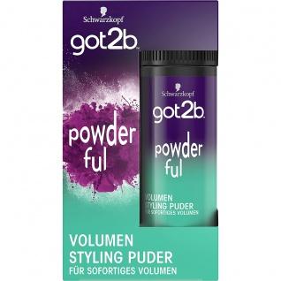 SCHWARZKOPF GOT2B powderful Volumen Styling Puder, 10 g