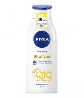 NIVEA Q10 Hautstraffende Body Lotion + Vitamin C, 400 ml