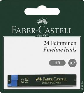 Faber Castell Fineline Leads Feinminen Super Polymer Härte HB 0.7mm
