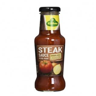 Kühne Steak Sauce pfeffrig pikant und natürlich lecker 250ml