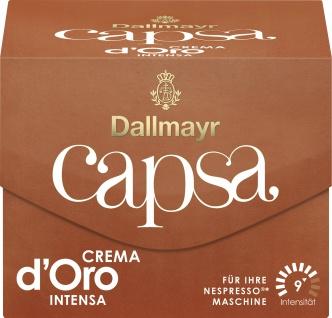 Dallmayr 10 Capsa Crema D oro Intensa geröstet Kaffeekapseln 56g