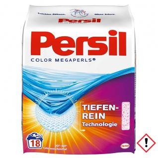 Persil Color Megaperls für Buntwäsche 18 Waschladungen 1332g