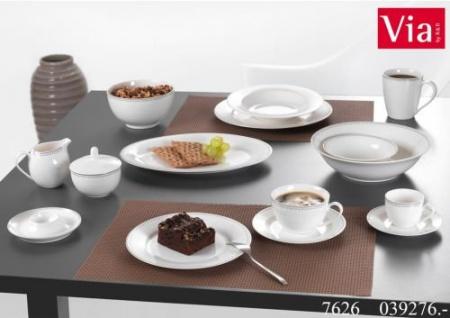 Ritzenhoff und Breker die Geschirr Serie Aura Suppenteller weiß