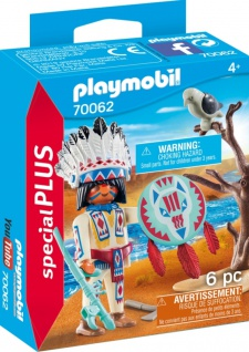 Playmobil Special Plus Indianerhäuptling Konstruktionsspiel 70061
