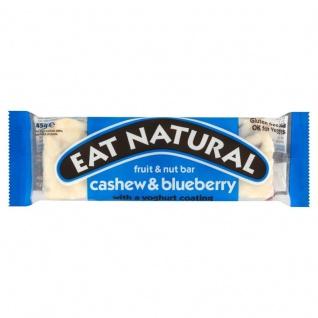Eat Natural Cashew und Blaubeere Nuss und Früchteriegel 45g - Vorschau