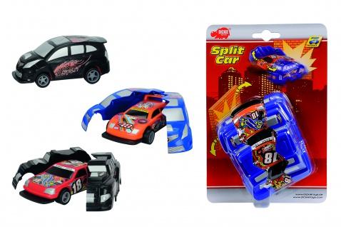Fahrz. Split Car, 4fach sort.