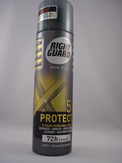 Right Guard Men Only 5 Protect Anti-Transpirant 150 ml