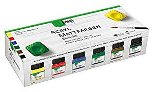 Hobby Line Mattlackfarben-Set