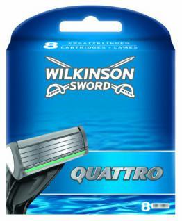 Wilkinson Sword Quattro Klingen, 8 Stück - Vorschau