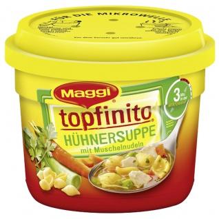Maggi Topfinito Hühnersuppe mit Muschelnudeln und viel Gemüse 380g