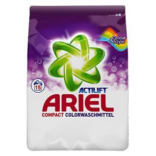 Ariel Compact Colour & Style Colorwaschmittelpulver 4084500453210, 1.137 kg, 5er Pack, 5 x 15 WL, 75 Waschladungen - Vorschau