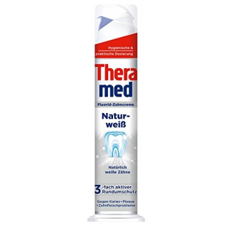 Theramed Zahncreme Naturweiss 100ml Standtube 3er Pack
