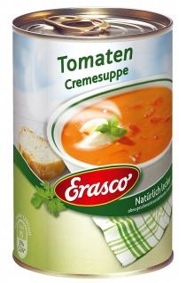 Erasco Tomaten Cremesuppe mit Tomatenstückchen 390ml 3er Pack