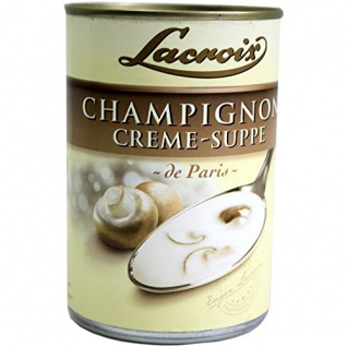 Lacroix - Champignon Creme-Suppe - 0, 4l