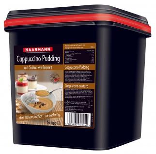 Naarmann Cappuccino Pudding mit Sahne verfeinert cremig 5000g