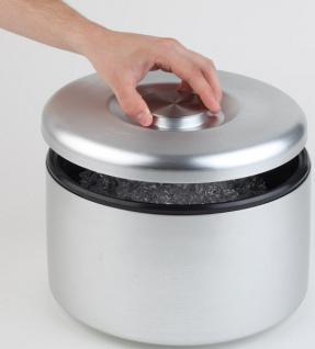 Assheuer und Pott Eisbox Eistruhe aus Aluminium Höhe 20cm 8000ml