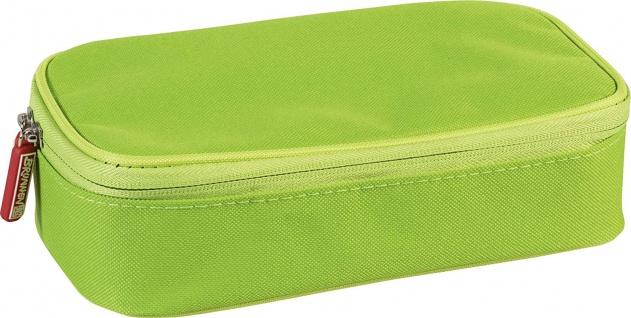 Brunnen Schüler Combi Etui Colour Code mit 7 Stiftschlaufen grün