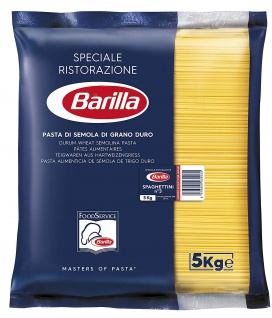 Barilla Basta Nudeln Spaghettini Nummer 3 Hartweizennudeln 5000g