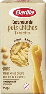 Barilla Casarecce de pois chiches Kichererbsen Glutenfrei 250g