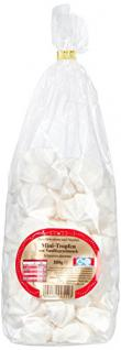 Gaston Baiser Gebäck Mini Tropfen mit Vanillegeschmack 6er Pack