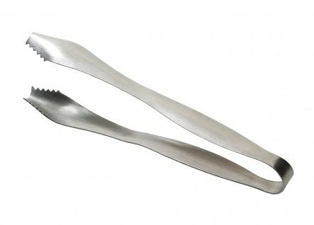 Fuchs Eiszange Eiswürfelzange aus Edelstahl rostfrei Serie Snake 18cm