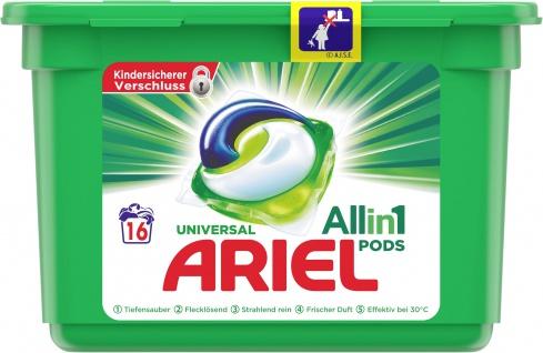 Ariel ALL-IN-1 Vollwaschmittel Pods Regulär 30Gr - 16WL