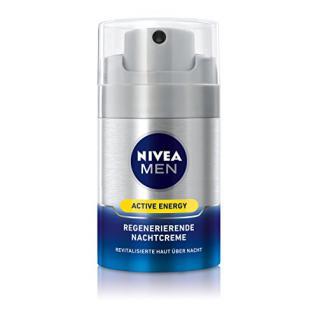 Nivea Men Regenerierende Nachtpflege Creme Active Energy, 1er Pack (1 x 50 ml)