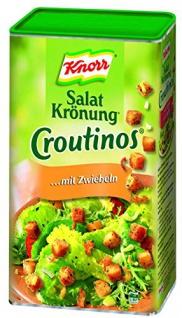 Knorr Salatkrönung Croutinos mit Zwiebeln knusprig für Salate 700g