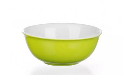 Ritzenhoff und Breker Schale grün Porzellan Serie Doppio 11cm