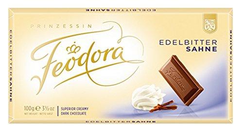 Feodora Tradition Edel-Bitter-Sahne mit 45 Prozent Kakaoanteil 100g