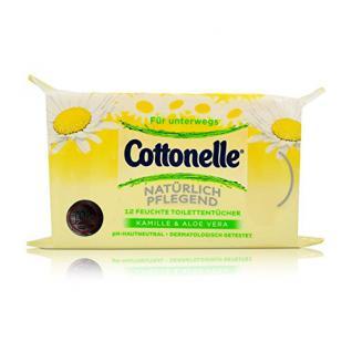 Cottonelle - Feuchte Toilettentücher für unterwegs - 12St - Vorschau