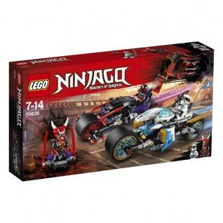 Lego Ninjago Masters of Spinjitzu 70639 Straßenrennen des Schlangenjaguars