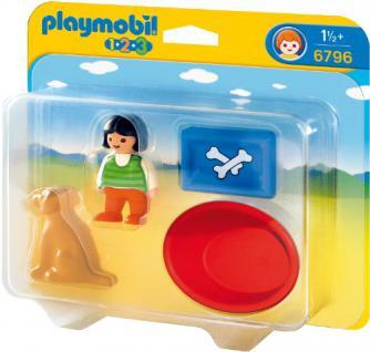 Playmobil 6796 - Mädchen Mit Hund - Vorschau