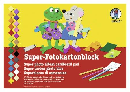 Super-Fotokarton-Block