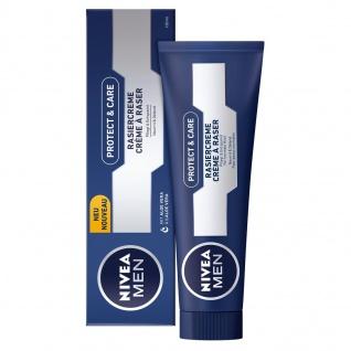 Nivea Men Rasiercreme Protect&Care mit Aloe Vera 100ml 4er Pack
