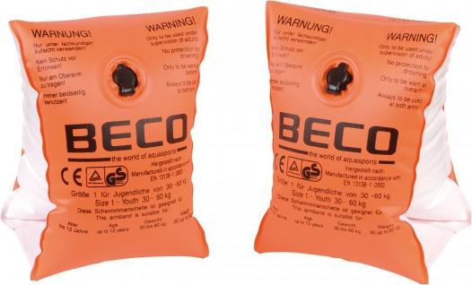 Schwimmflügel von BeCo für Kinder bis vier Jahren Farbe Orange
