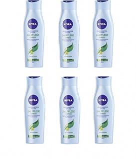 Nivea Shampoo und Spülung 2 in 1 Pflege mit Akazien-Extrakt 250ml 6er Pack