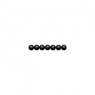 Meyco schweiß und speichelfeste 165 Holzperlen 4mm in schwarz