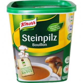 Knorr Steinpilz Bouillon kräftig Großpackung für Gastro 1000g