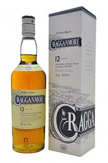 Cragganmore 12 Jahre Single Malt Scotch Whisky (1 x 0.7 l)