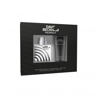 David Beckham Respect Geschenkset Eau de Toilette und Duschgel 115ml