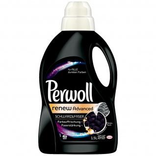 Perwoll ReNew Schwarz Effekt mit bis zu 20 Waschladungen im 2er Pack