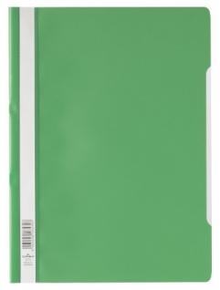 DURABLE Sichthefter mit transparentem Vorderdeckel grün DIN A4 50 Stück