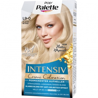 Poly Palette L9 0 Platin Blond Intensiv Creme Coloration 115ml