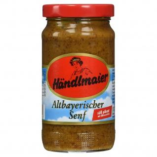 Händlmaier Altbayerischer Senf Original Milde und leicht Pikant 200ml